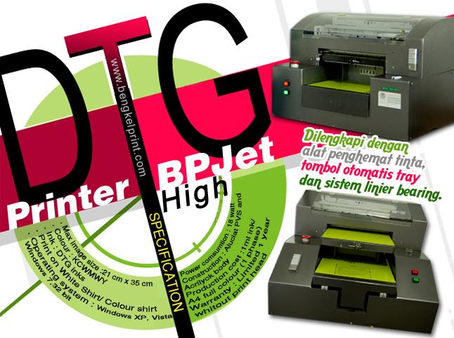 Analisis Bisnis Cetak Kaos Menggunakan Printer DTG