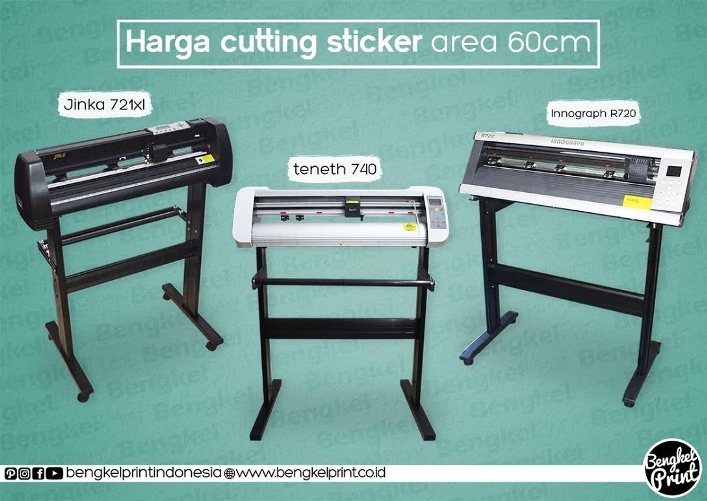 Harga Cutting Sticker Murah Area 60cm