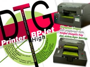 Kelebihan Sablon Kaos Menggunakan Printer DTG