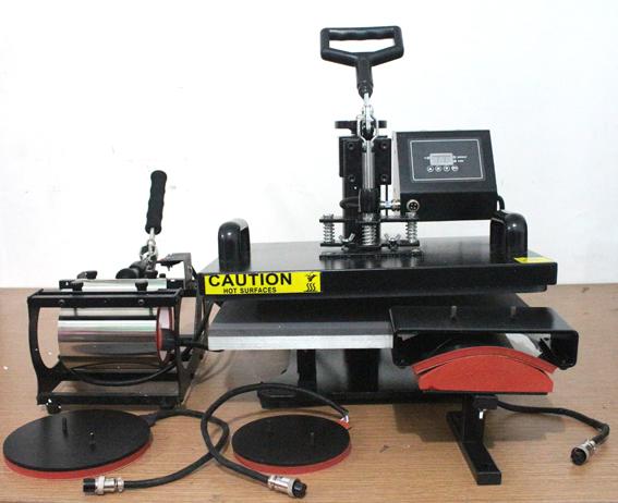 Jual mesin press 5in1 murah
