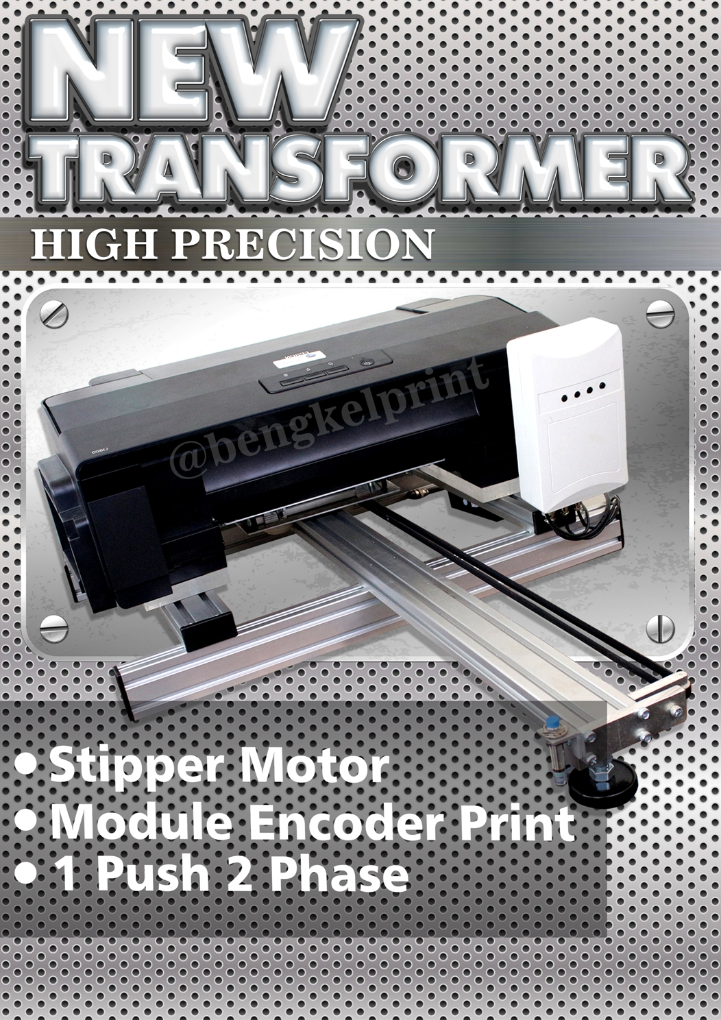 Jual Printer DTG NEW Transformer High Precision