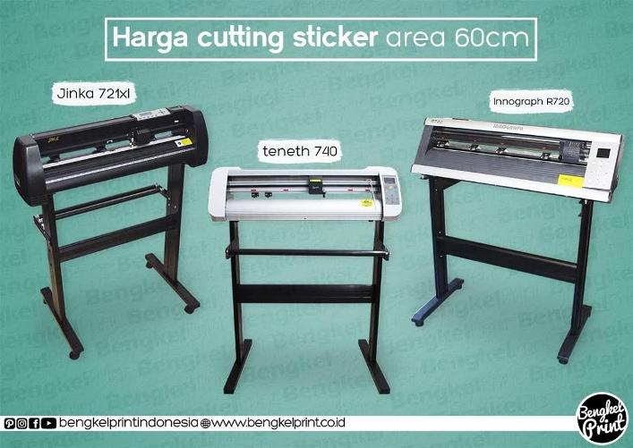 Harga Cutting Sticker Murah Area 60cm