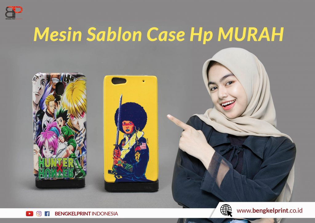 mesin sablon case hp
