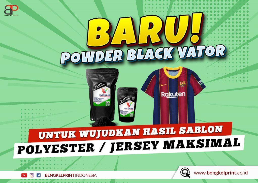 Powder Adhesive Black Vator