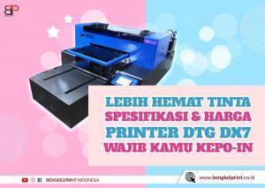 Paket Printer DTG DX7 Murah