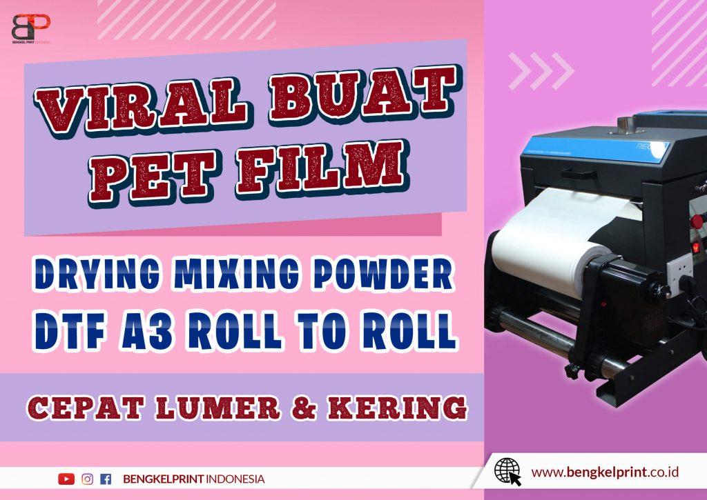 Dryer Powder DTF Printing Murah