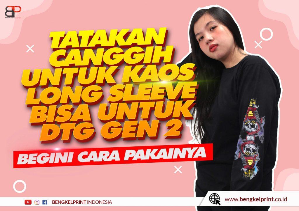 Harga Tray Lengan Panjang DTG murah 2021