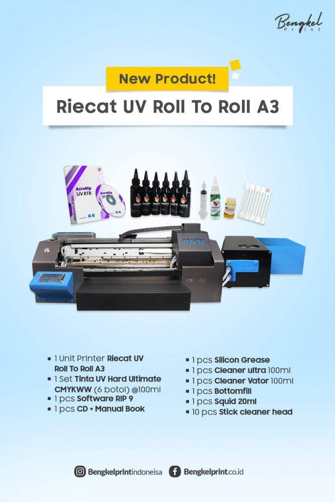 Harga Paket Mesin UV RTR Epson A3