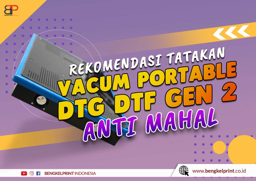 Tatakan Vacum Portable DTG